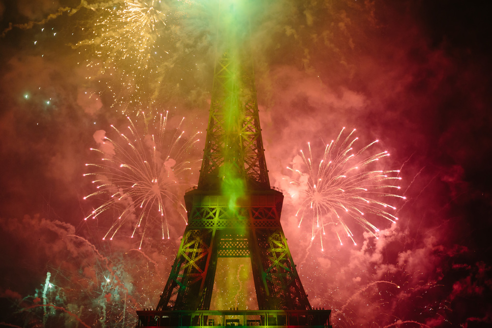 Photographer in Paris, Bastille 2015, Fireworks, Eiffel Tower, Iheartparisfr