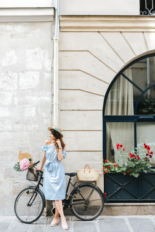 paris photographer bicycle street blogger