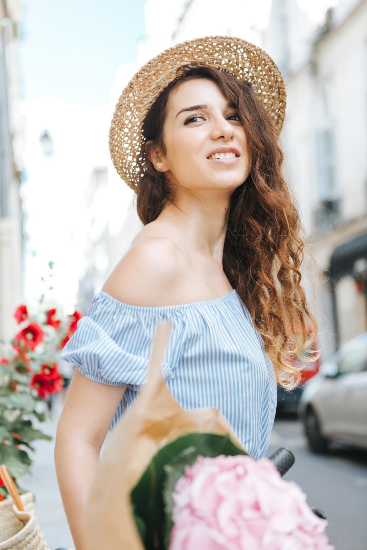 paris photographer portrait summer blogger