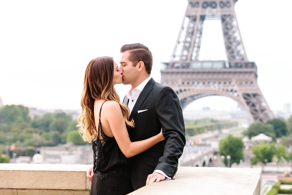 Photographer in Paris Travel Love story Eiffel Tower Trocadero IheartParisfr