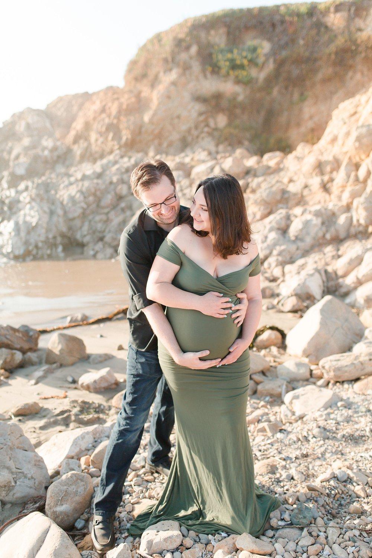 Pescadaro State Beach Maternity Session_0005.jpg