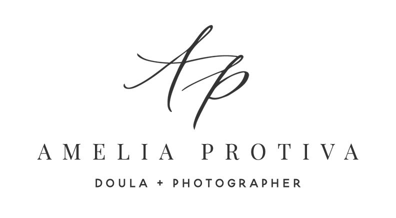 Amelia Protiva, Certified Doula and Birth Photographer