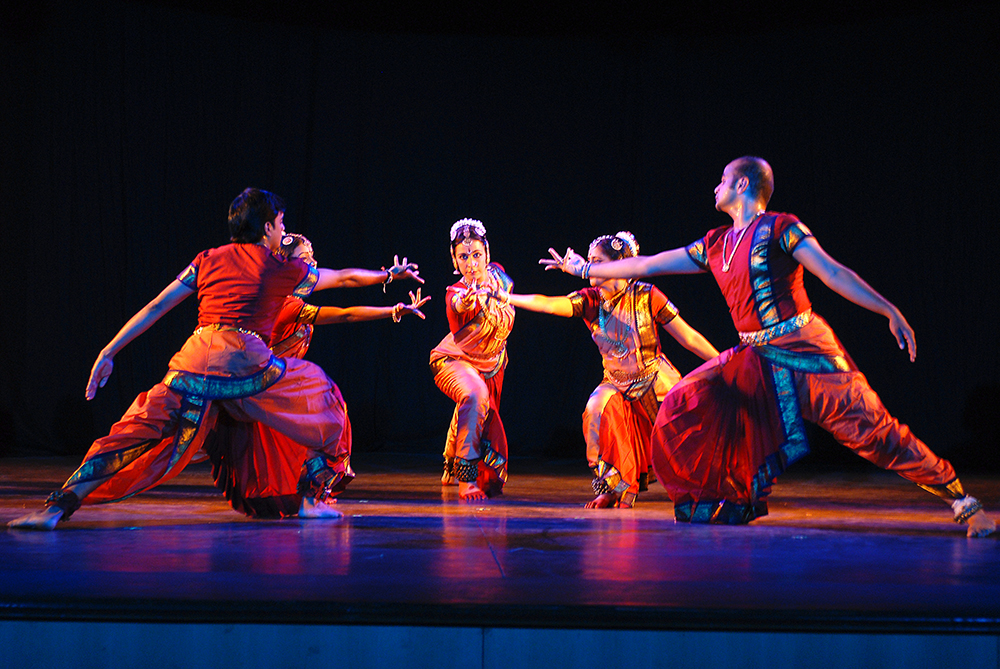 Alekhya: Spilling Ink, a Bharatanatyam, theater and poetry collaboration. November 2007.
