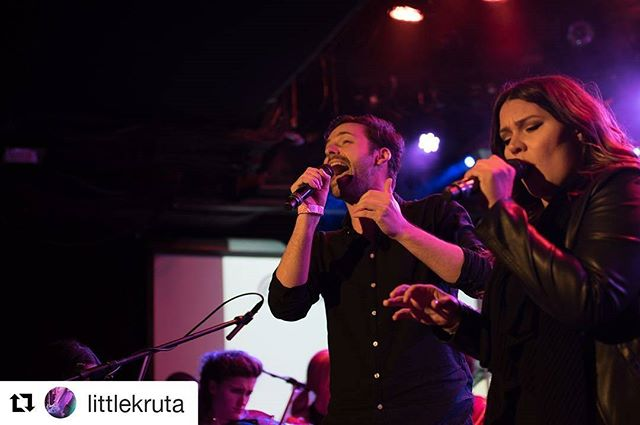 Man this was fun ❤ @littlekruta  #Repost @littlekruta (@get_repost) ・・・ #SANGIN ft. @blcofficial x @melanywatson 💥 possible because of @patreon 🔵 photo by @bloomsdaydesign ⚡️ #littlekruta #melanywatson #benclark #bloomsdaydesign #lprpresents #orchestralpop #popmusic #vibes #love #light