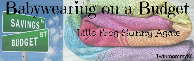 little-frog-sunny-agate-babywearing-review