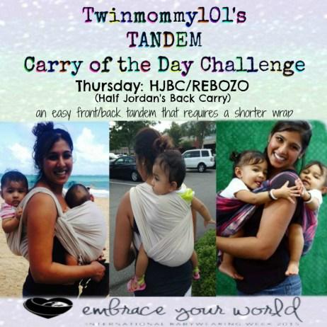 IBW COTD challenge HJBC