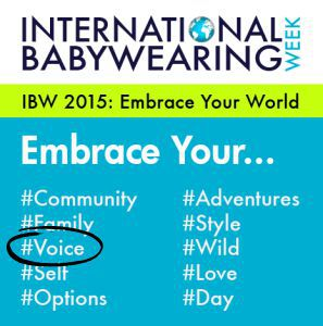 IBW theme- voice