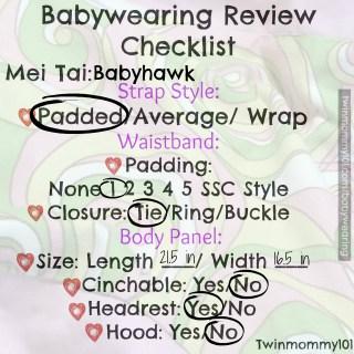 MT strap feat checklist babyhawk