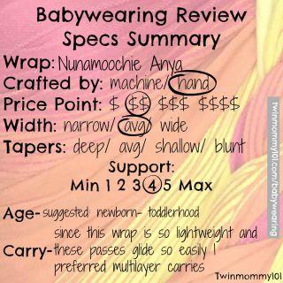 nunamoochie-anya-babywearing-review-checklist