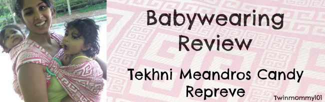 Tekhni Meandros Candy Repreve Babywearing Review