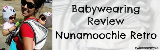 Babywearing Review Retro