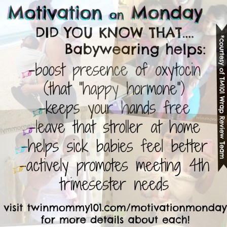 benefits-of-babywearing