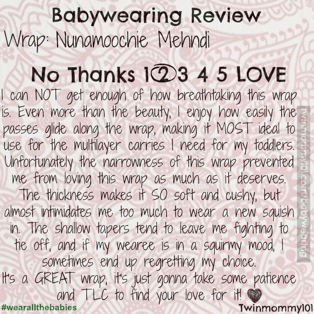 nuna review-main summary