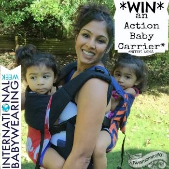 Action Baby Carrier (Giveaway- IBW 2015)