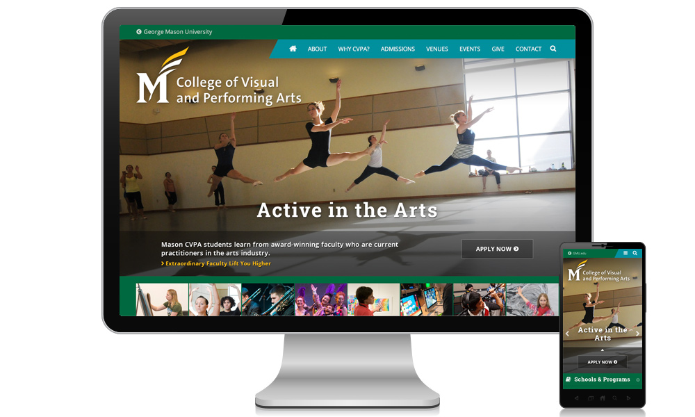 George Mason University: College of Visual and Performing Arts