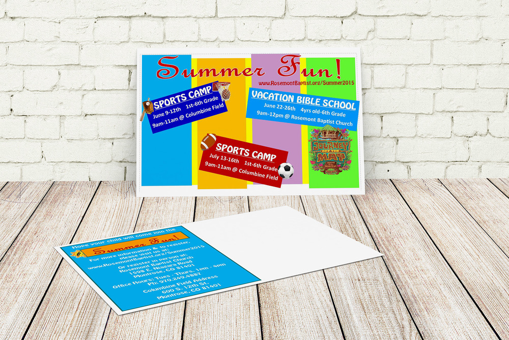 Church Direct Mail VBS