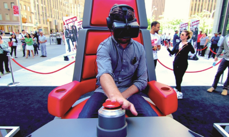 NBC'S THE VOICE 360 VR EXPERIENCE
