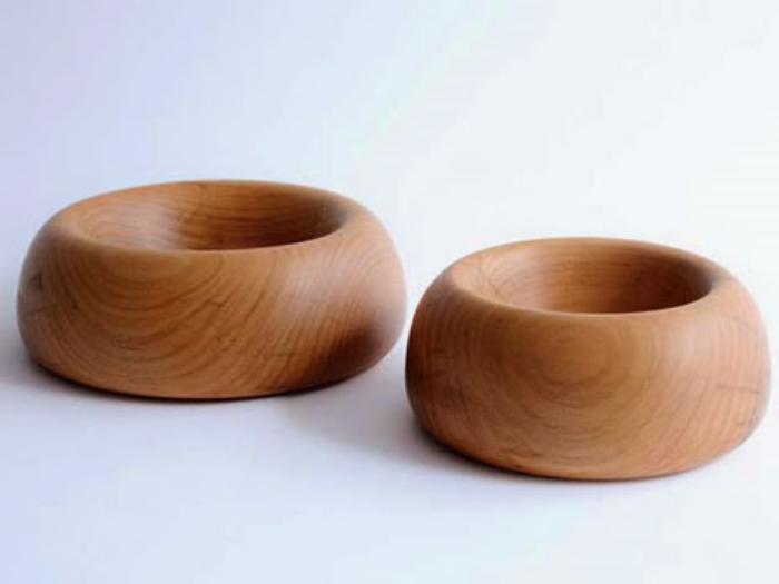 Handmade dog bowls by DONG-Sfera.