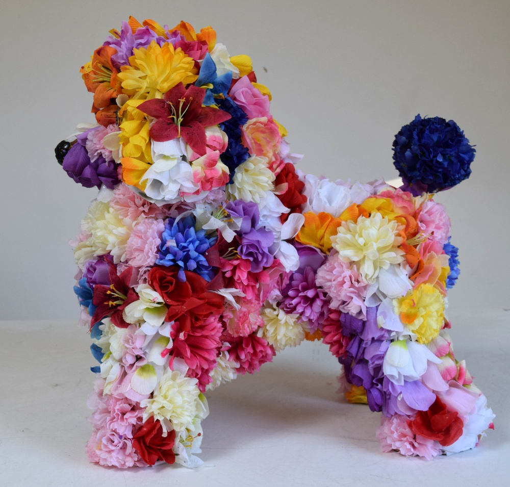 Flower Poodle 2, Robert Bradford, 2016.