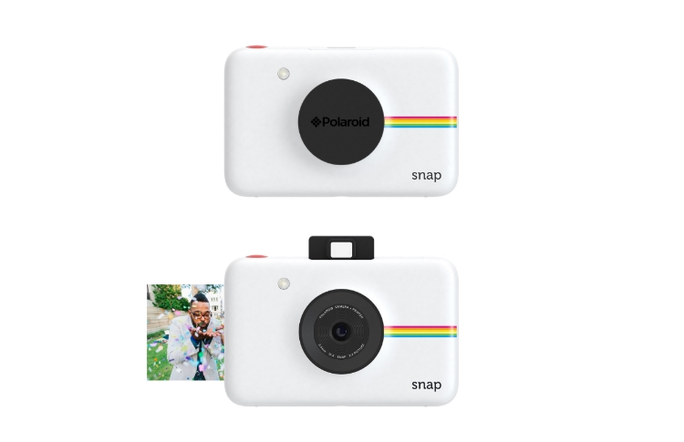 Share your doggy snaps on the go with the Polaroid Snap. An update on a classic.