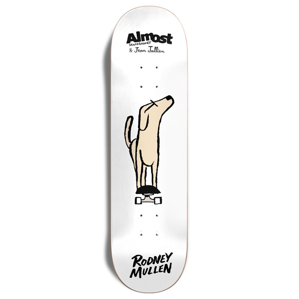 Jean Jullien x Almost Skateboards