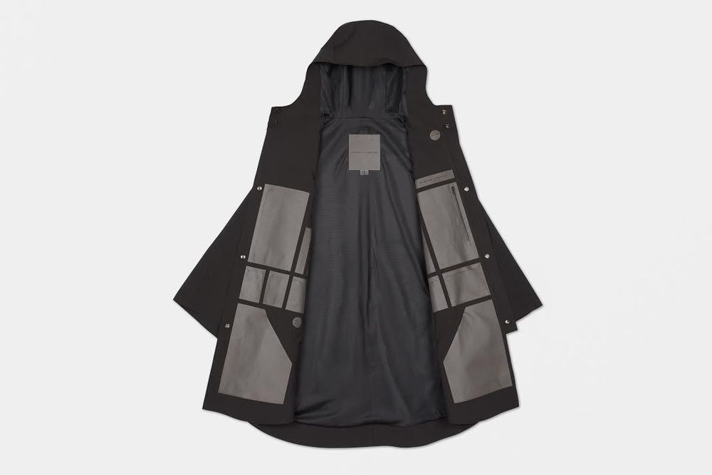 The Arrivals x Snarkitecture Element Poncho.