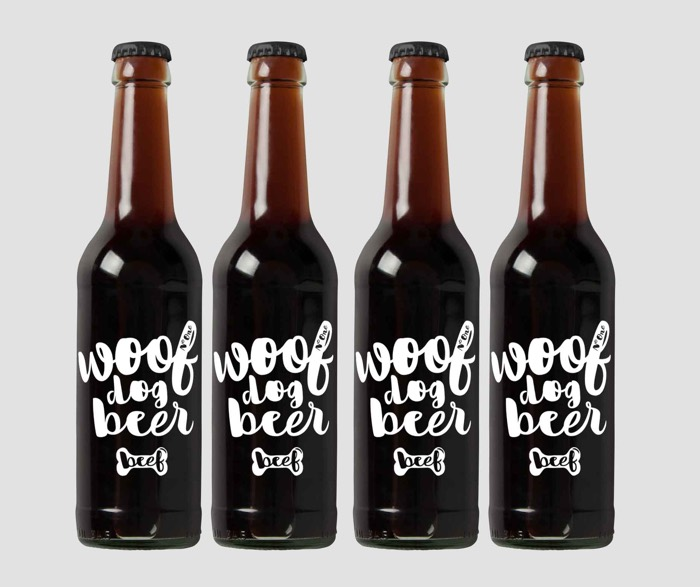 Woof dog beer is good for your mutt.