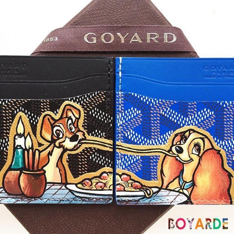 Goyard meets pop artist Boyarde.