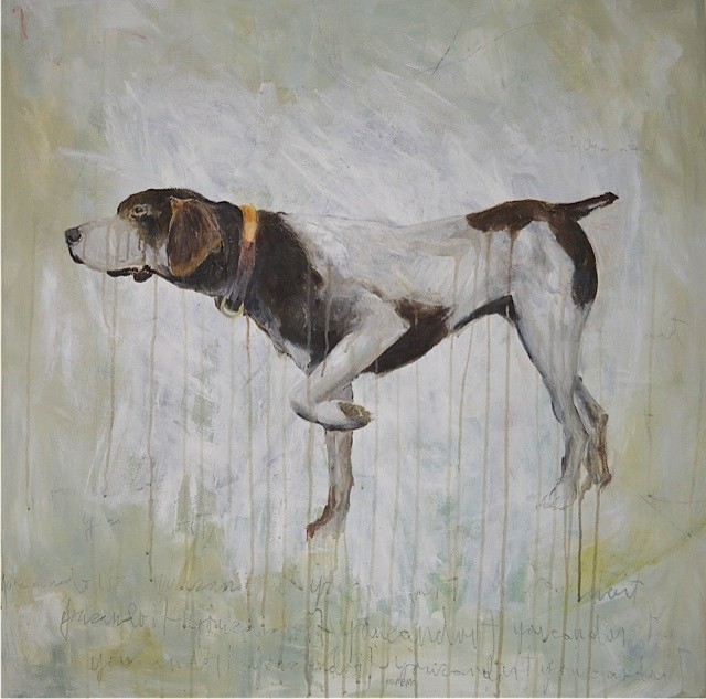 Pointer, by Katherine Bell-McClure.