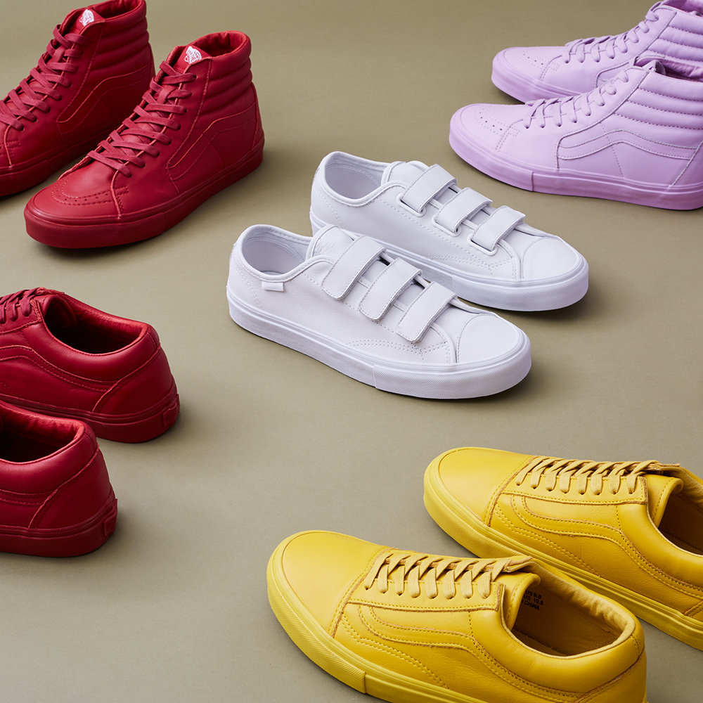 Vans for Opening Ceremony.