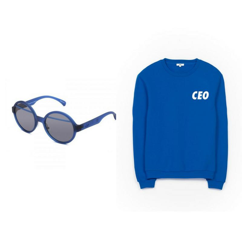 Adidas Originals vs. Italia Independent Sunglasses, RAD CEO sweathsirt.