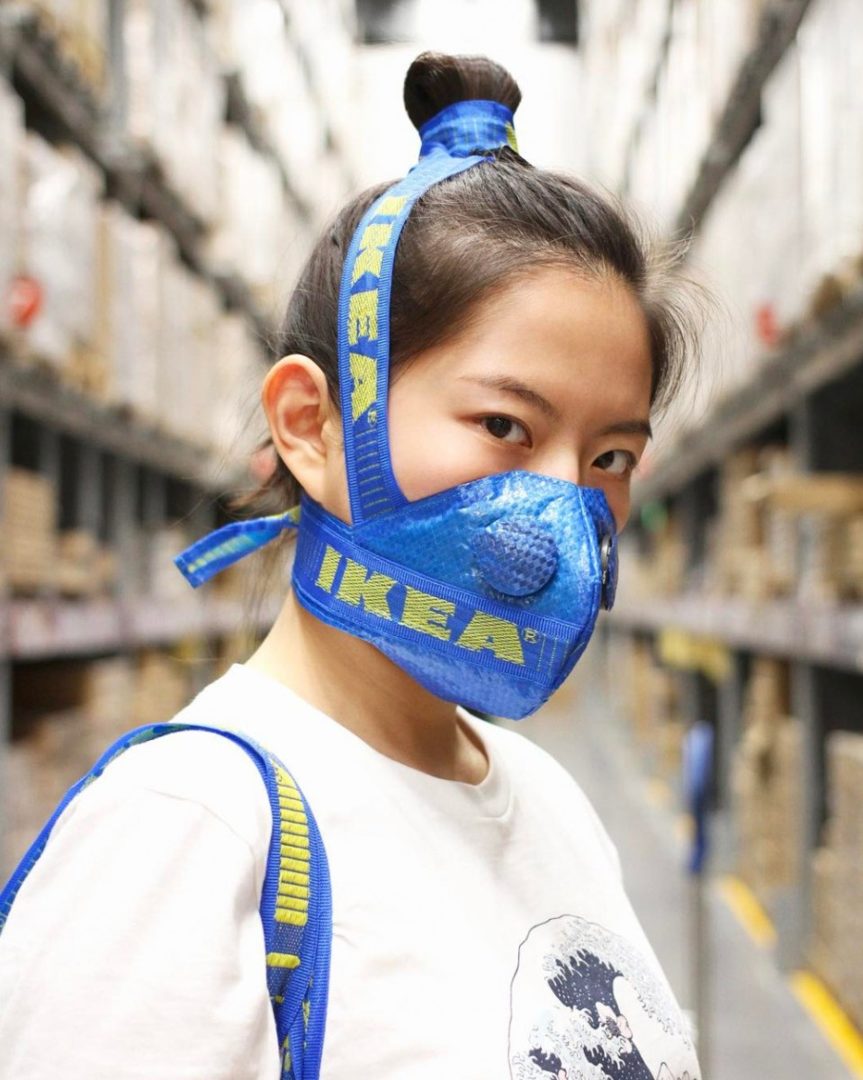 ikea gas mask