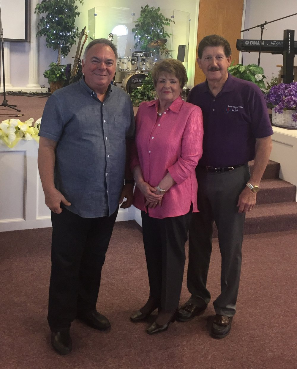 Pastors Jerry and Linda Roach - San Angelo, TX