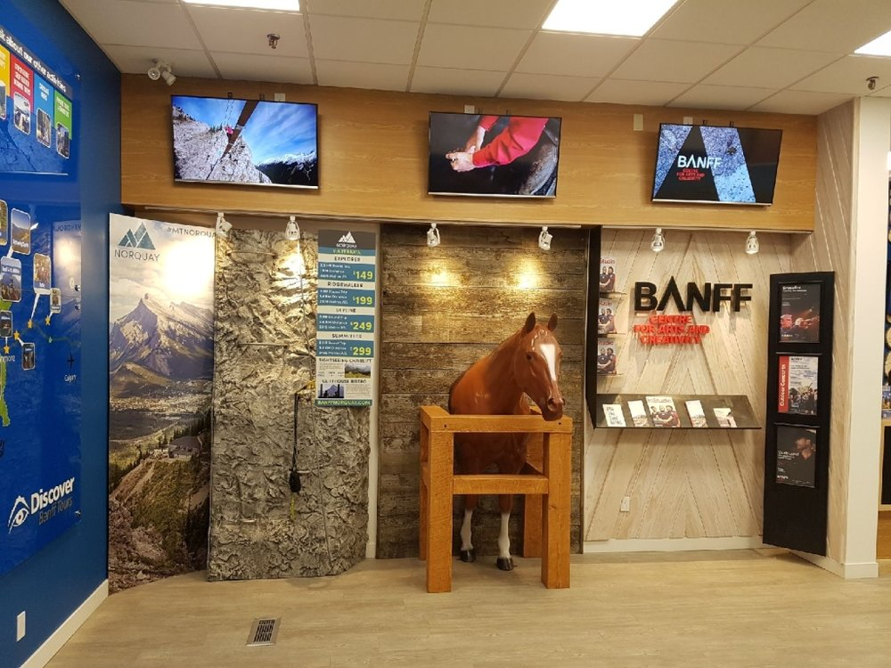 Discover Banff Tours Displays - May 2017