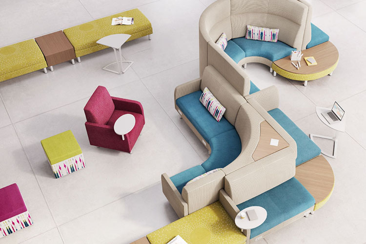First Office Coact Modular Lounge