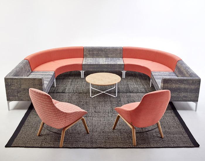 Naughtone Symbol Modular Lounge