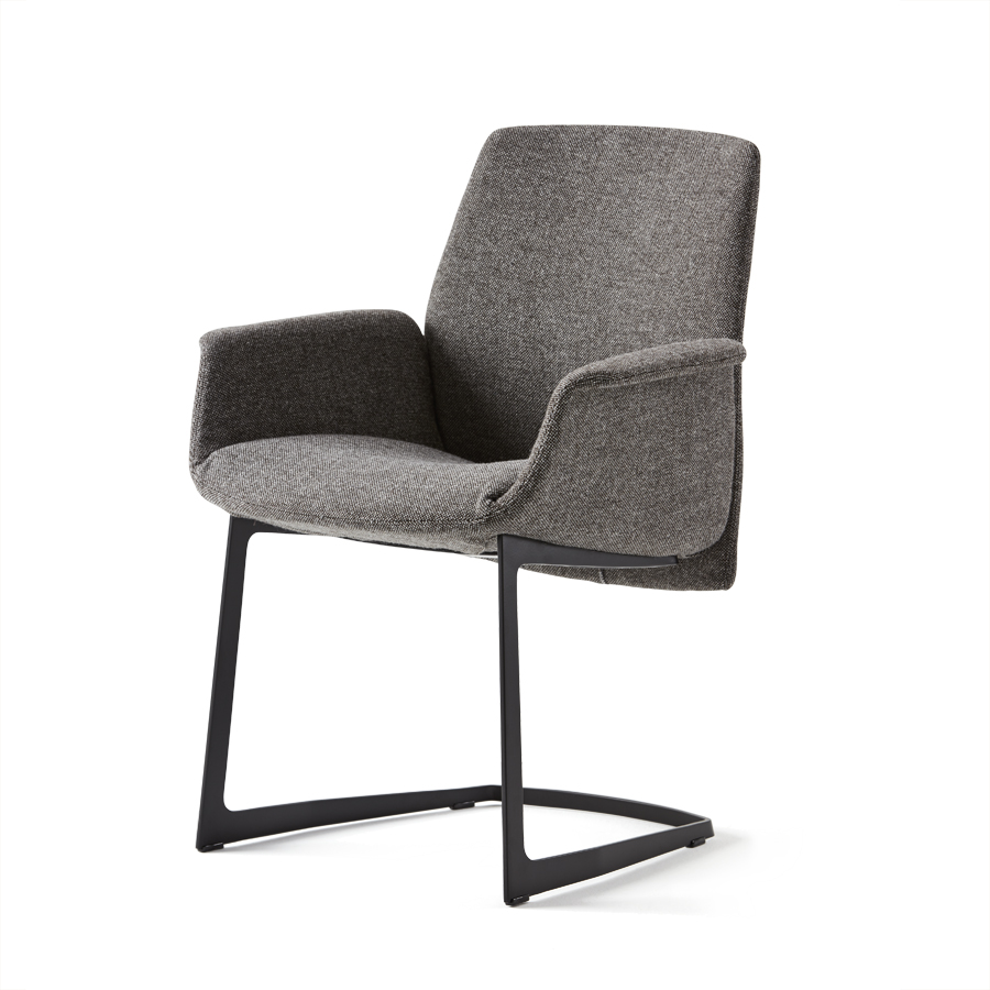Haworth Collection Downtown Side Chair by Poltrona Frau - Sled Base