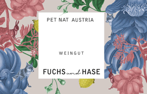 Fuchs und Hase Pet Nat Wine Label