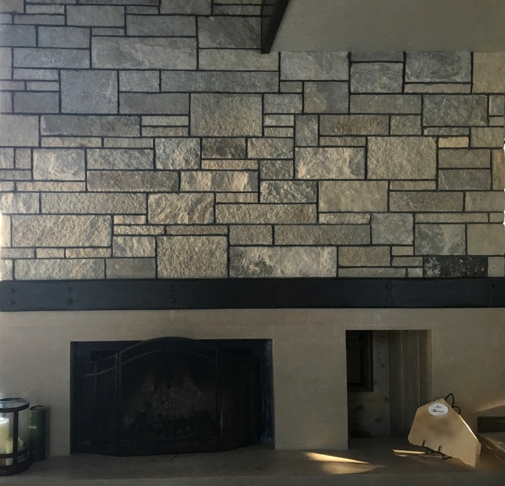 Stone Built Fireplaces fireplaces/fire pits — ascent stone and design