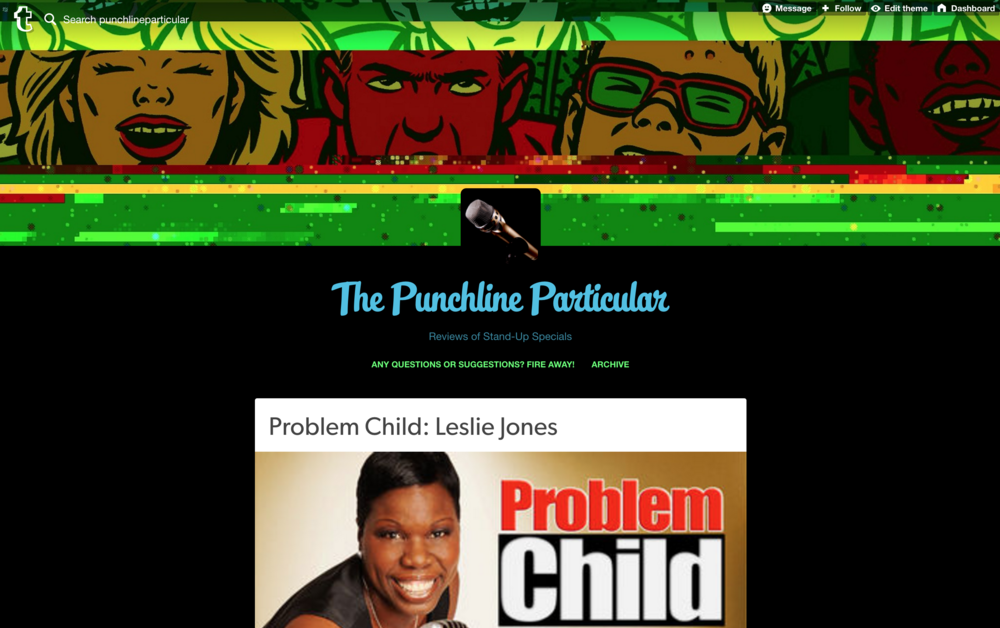 Leslie Jones on the Punchline Particular!