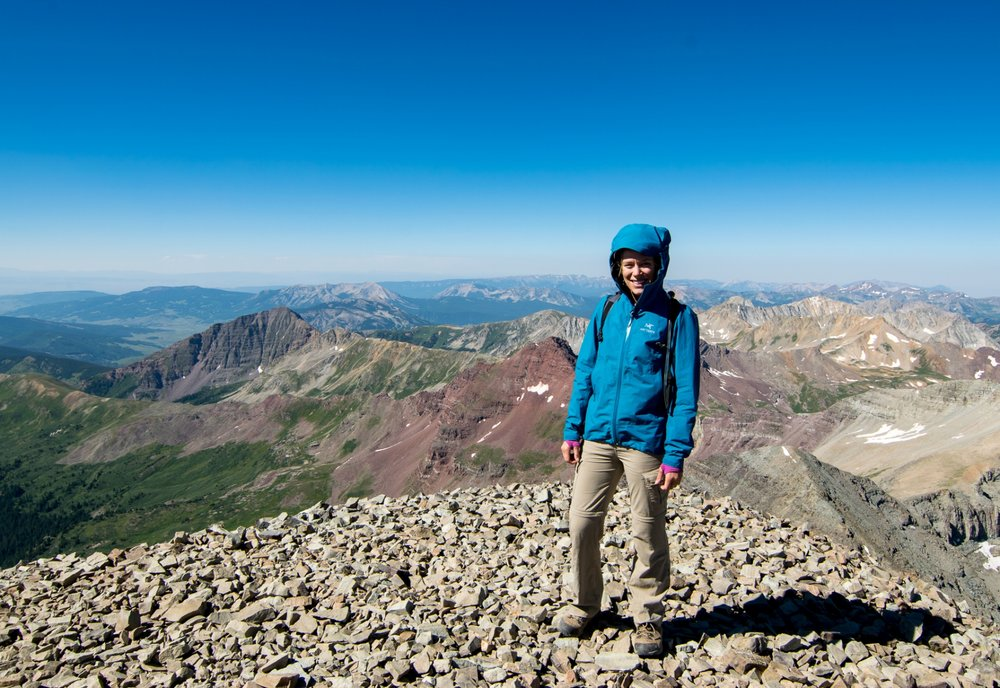 Summiting Castle Peak, my first 14er, with Eagle Eye Ministries Aspen Excursion July 2016
