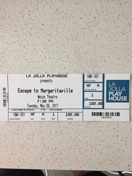 Escape to Margaritaville: Opening Preview Night in La Jolla — My ...