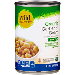 Canned garbanzo Beans/chickpeas