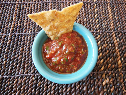 Roasted Tomato & Chile Salsa - Say hola to Mexican food again!