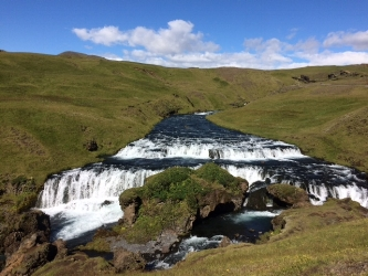 We saw over 10 waterfalls each day. They are everywhere!