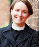 The Rev. Kim Seidman,rector - Text about Kim