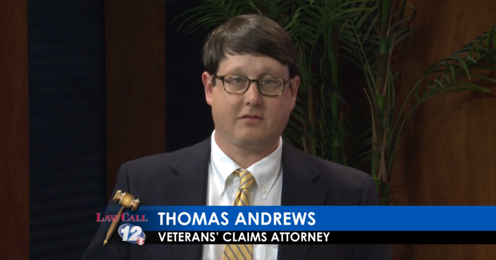 I want to thank Augusta Law Call, Channel 12 Augusta, and the Hawk Law Firm in Augusta for the opportunity to appear on Law Call this Veteran's Day weekend.