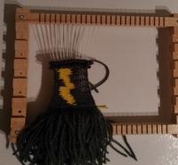 Doing a little weaving...