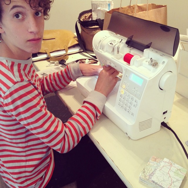 "Absolute beginner sewing, aka ""The Reluctant Seamster"""