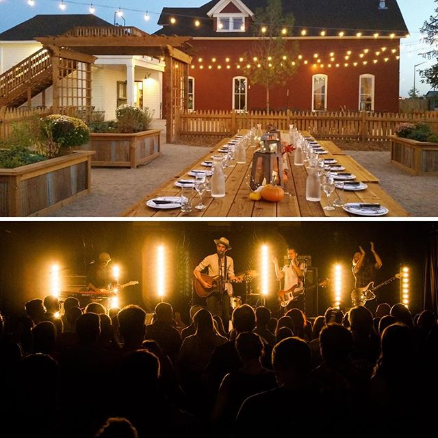 There are still a few seats left for the Elevations Farm to Table Dinner with @greenriverordinance this Saturday Oct. 6 from 6-10pm! Enjoy a fresh farm to table dinner followed by an intimate concert by Green River Ordinance. The best part is all proceeds from this event go to supporting the completion of @biggreen Learning Gardens at four Fort Collins schools. Join us for a beautiful evening and help support our schools! Buy tickets via the link in our bio. . . #bignightforbiggreen #jessupfarm #fortcollins #visitfortcollins